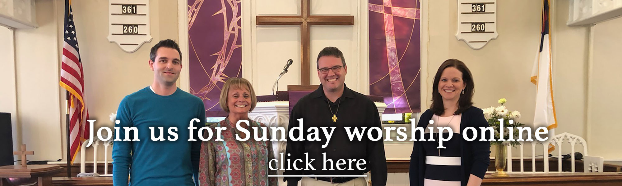 Join NWPC for Sunday Worship Online